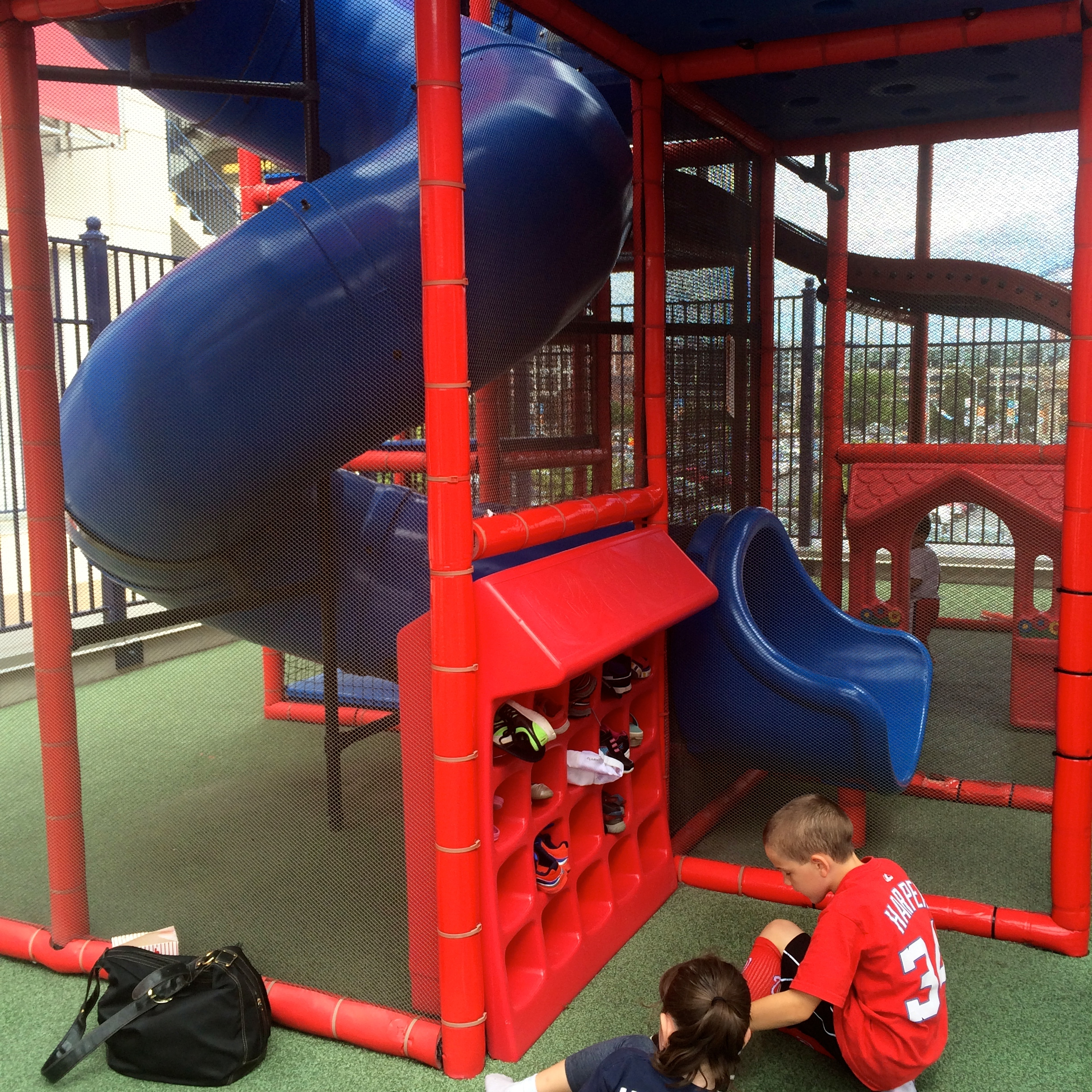 Nationals Park with Toddlers in Tow