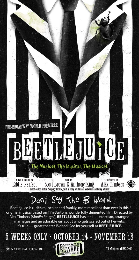 Beetlejuice National Theatre